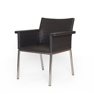 PURA ARM CHAIR BK