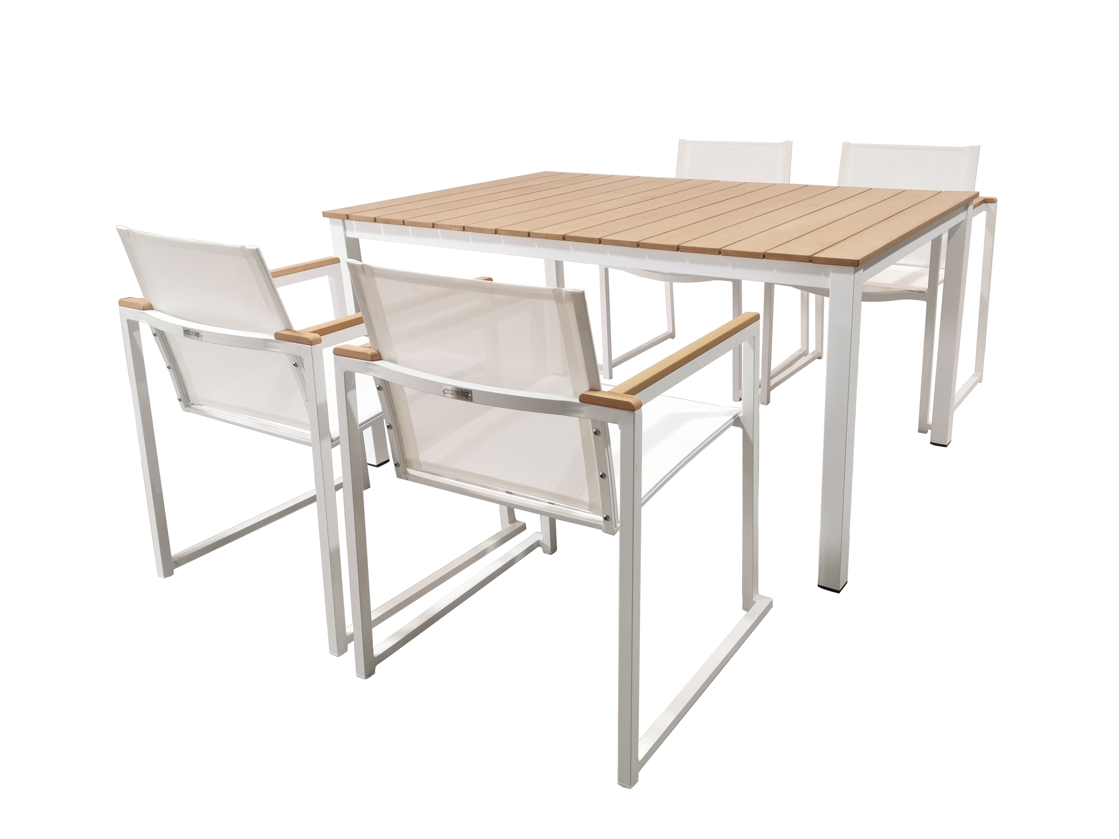 QUADRO DINING TABLE AW- QUADRO ARM CHAIR AW SET